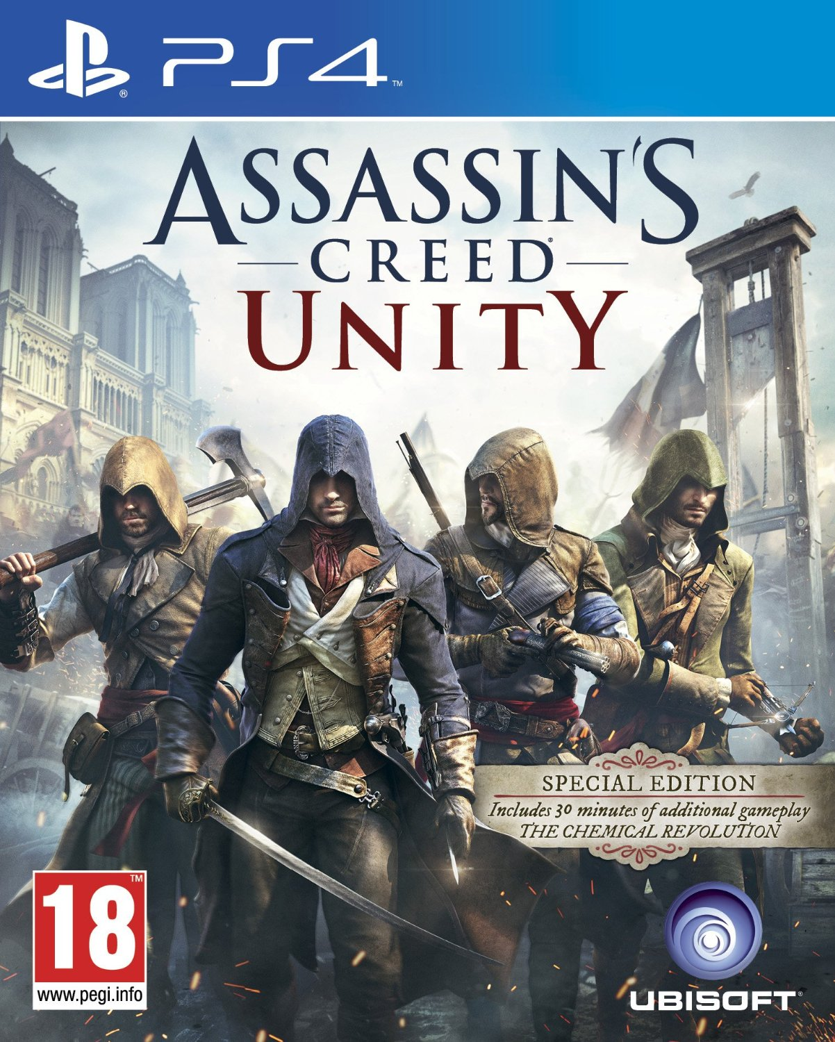 Assassin's Creed: Unity [PS4] 5.05 / 6.72 / 7.02 [EUR] (2014) [Русский] (v1.05)