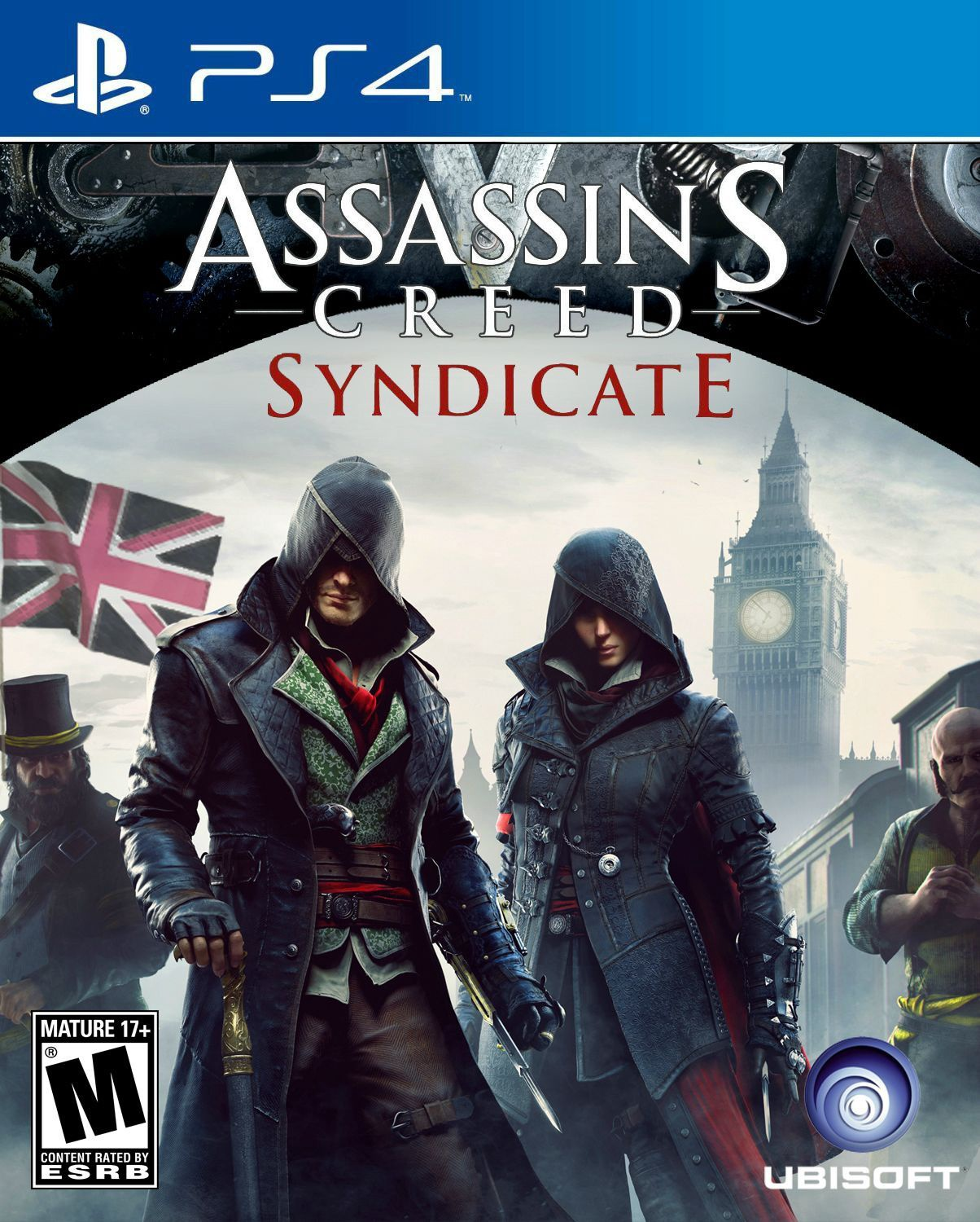 Assassin's Creed: Syndicate [PS4] 5.05 / 6.72 / 7.02 [EUR] (2015) [Русский] (v1.52)