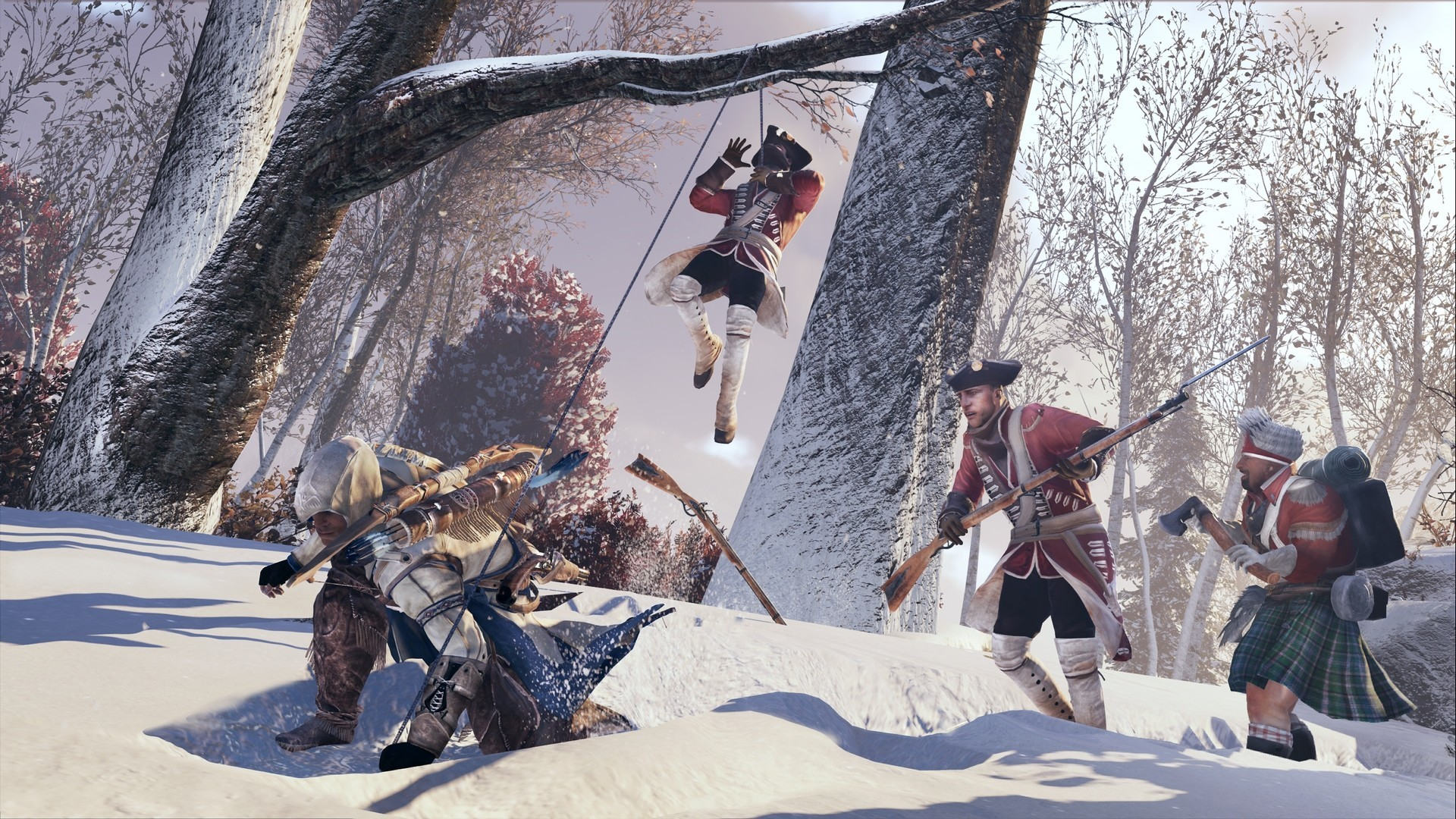 Скриншот *Assassin's Creed 3: Remastered [PS4] 6.72 / 7.02 [EUR] (2019) [Русский] (v1.03)*