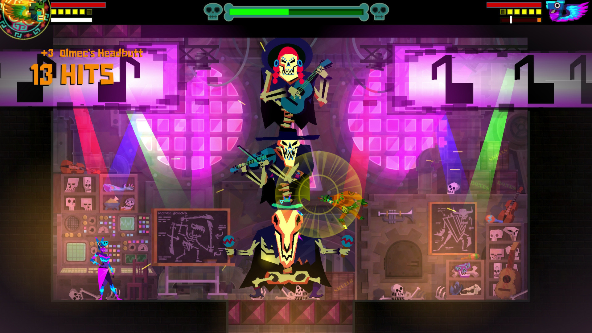 Скриншот *Guacamelee! Super Turbo Championship Edition [PS4] 5.05 / 6.72 / 7.02 [EUR] (2014) [Русский] (v1.03)*
