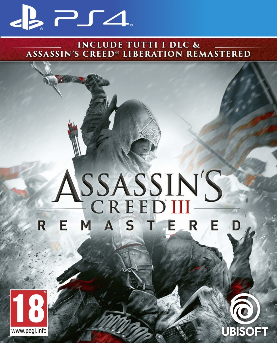 Assassin's Creed 3: Remastered [PS4] 6.72 / 7.02 [EUR] (2019) [Русский] (v1.03)
