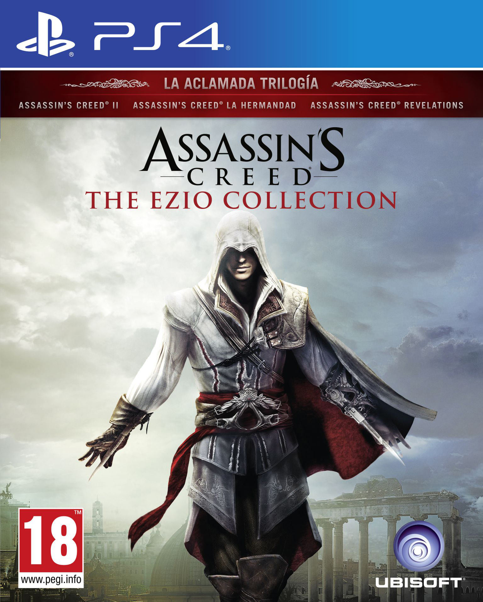 Assassin's Creed: The Ezio Collection [PS4] 5.05 / 6.72 / 7.02 [EUR] (2016) [Русский] (v1.02)
