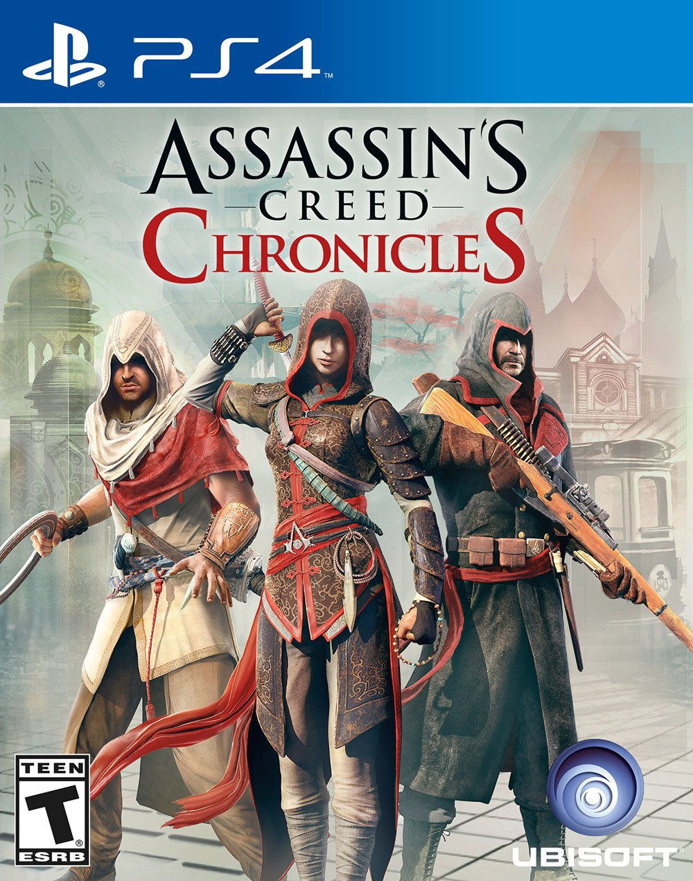 Assassin's Creed Chronicles: Trilogy Pack [PS4] 5.05 / 6.72 / 7.02 [EUR] (2016) [Русский] (v1.01)