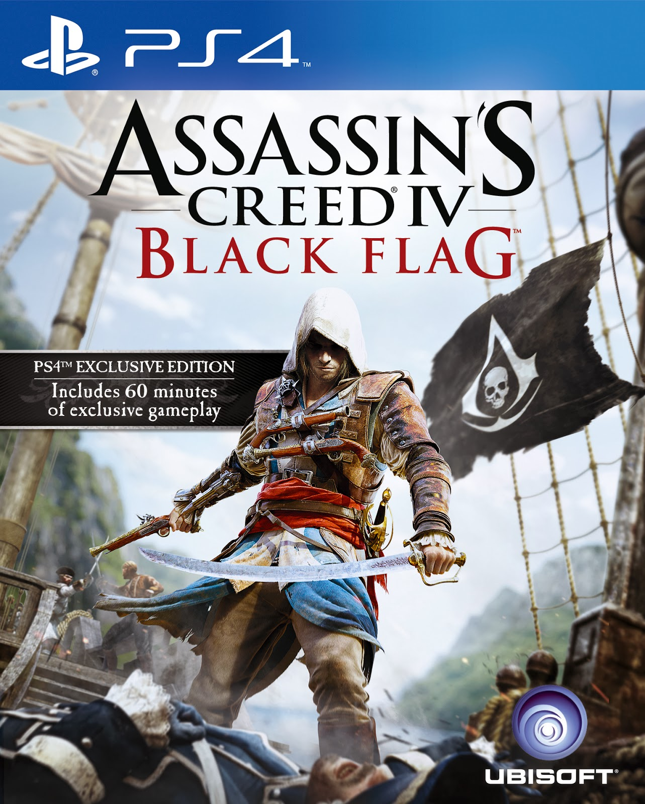 Assassin's Creed IV: Black Flag [PS4] 5.05 / 6.72 / 7.02 [EUR] (2013) [Русский] (v1.04)