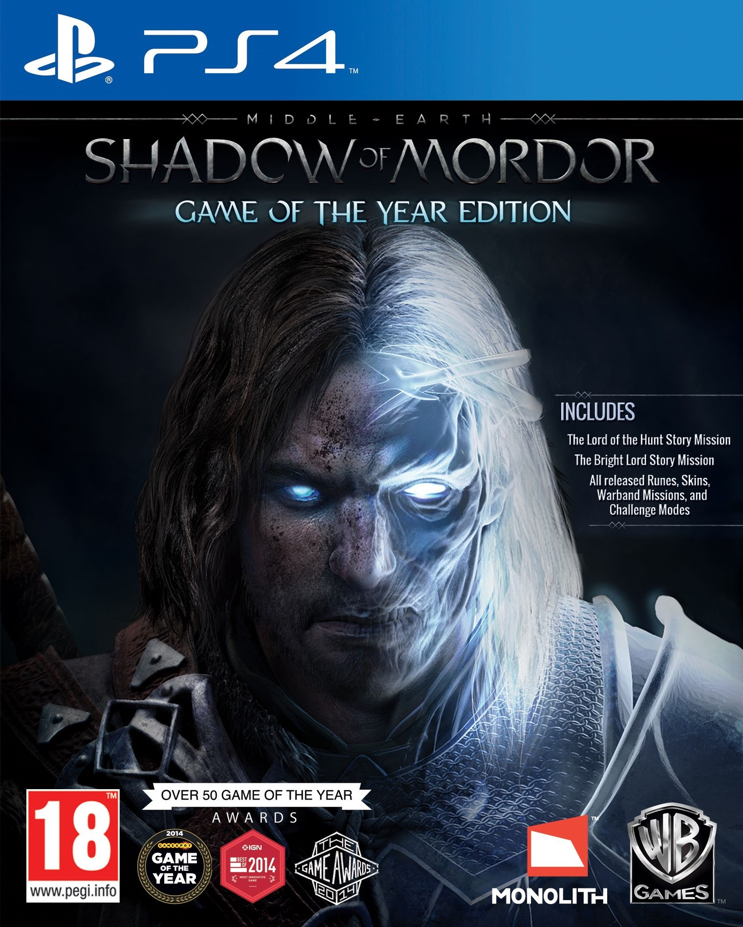 Middle-earth: Shadow of Mordor - Game of the Year Edition [PS4] 5.05 / 6.72 / 7.02 [EUR] (2014) [Русский] (v1.03)