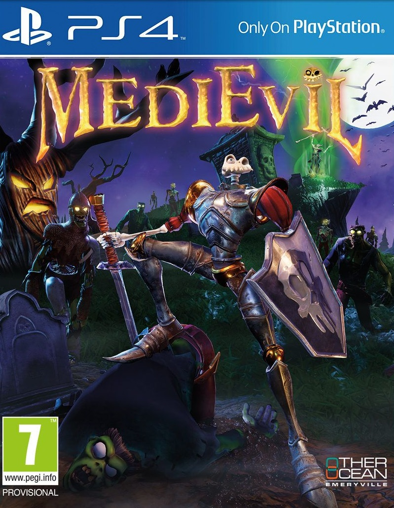 MediEvil [PS4 Exclusive] 5.05 / 6.72 / 7.02 [EUR] (2019) [Русский] (v1.01)