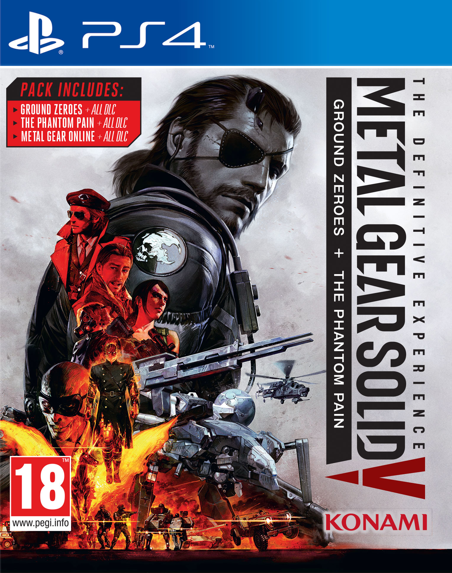 Metal Gear Solid V: The Definitive Experience [PS4] 5.05 / 6.72 / 7.02 [EUR] (2016) [Русский] (v1.05)