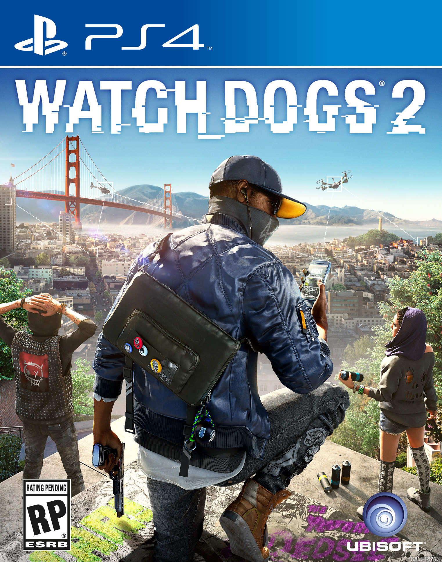 Watch Dogs 2 - Gold Edition [PS4] 5.05 / 6.72 / 7.02 [EUR] (2016) [Русский] (v1.17)