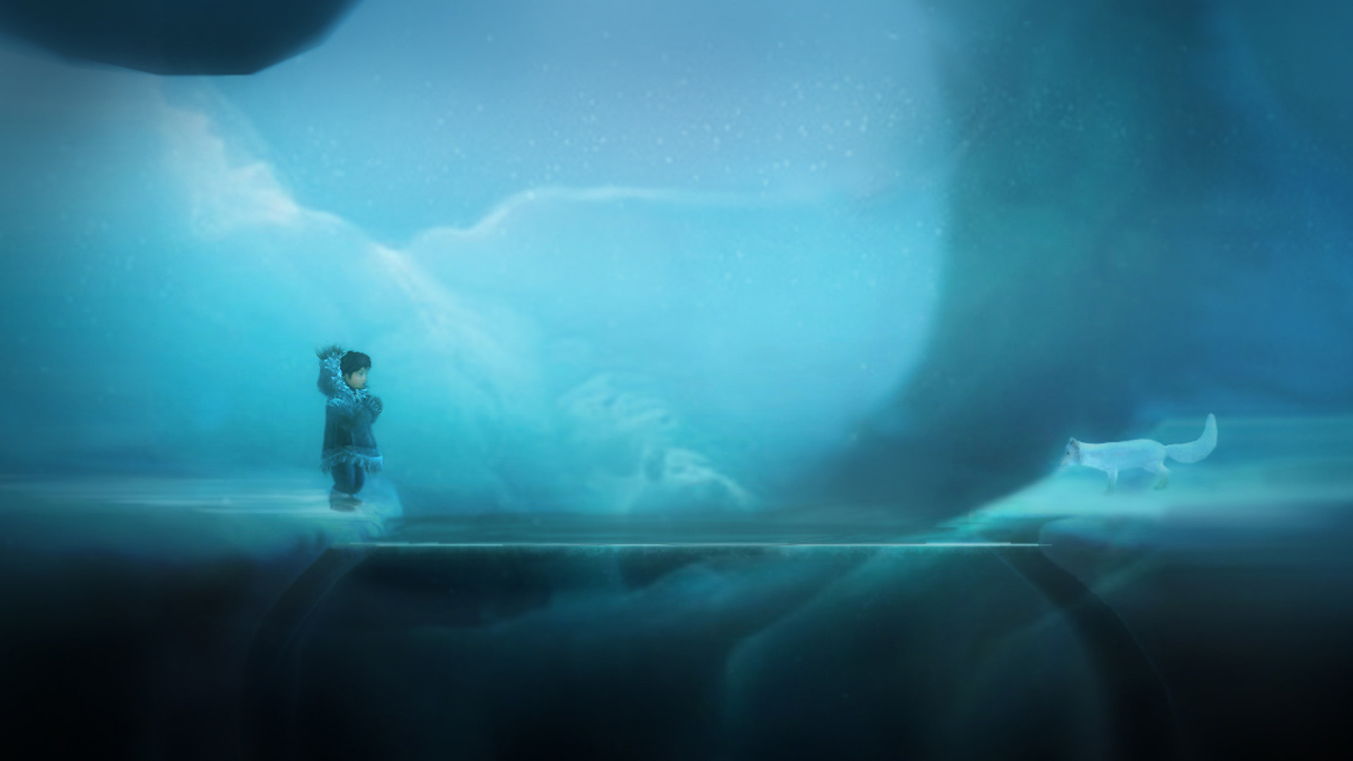 Скриншот *Never Alone - Arctic Collection [PS4] 5.05 / 6.72 / 7.02 [EUR] (2014) [Русский] (v1.04)*