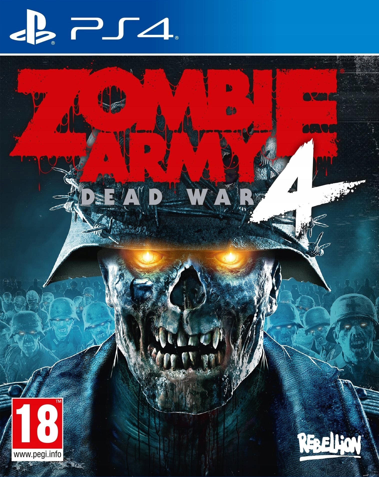Zombie Army 4: Dead War [PS4] 5.05 / 6.72 / 7.02 [EUR] (2020) [Русский] (v1.07)
