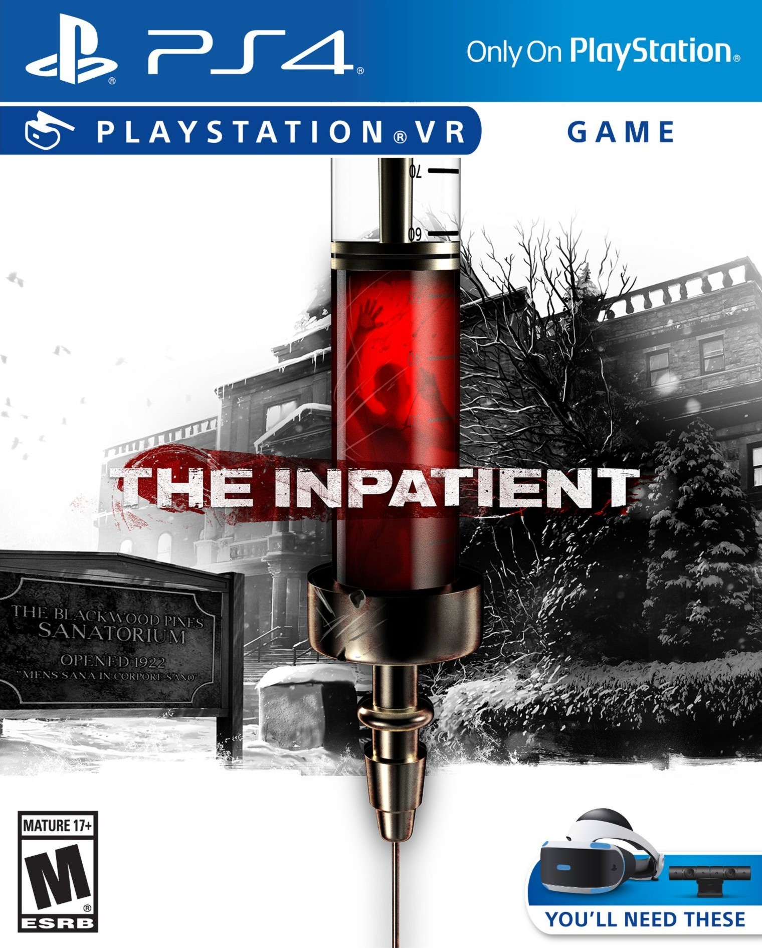 The Inpatient [PS4 Exclusive VR Only] 5.05 / 6.72 / 7.02 [EUR] (2018) [Русский] (v1.02)