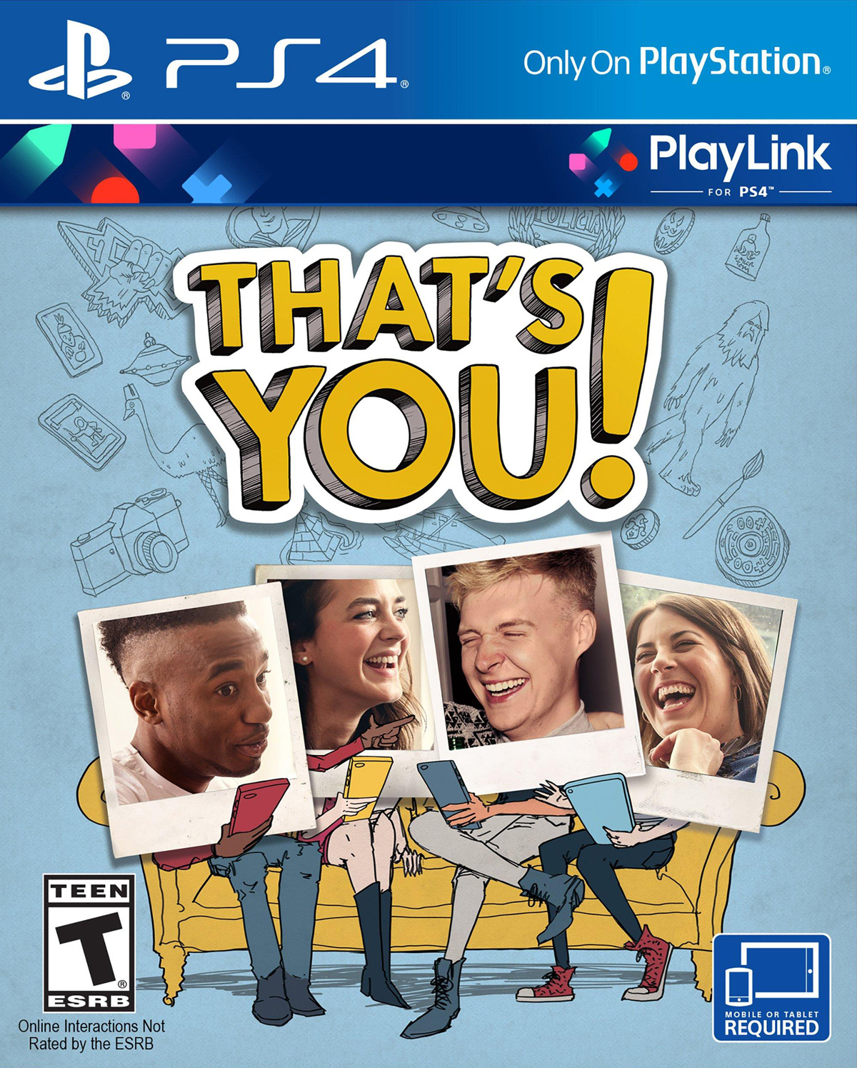 That's You! | Это Ты! [PS4 Exclusive PlayLink] 5.05 / 6.72 / 7.02 [EUR] (2017) [Русский] (v1.04)