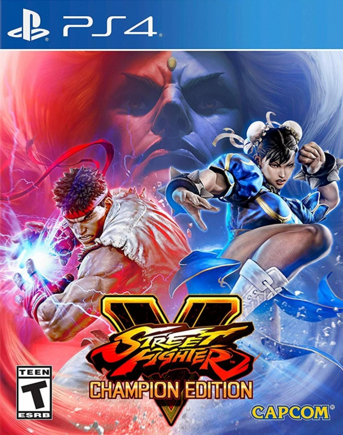 Street Fighter V - Champion Edition [PS4] 5.05 / 6.72 / 7.02 [EUR] (2020) [Английский] (v3.03)