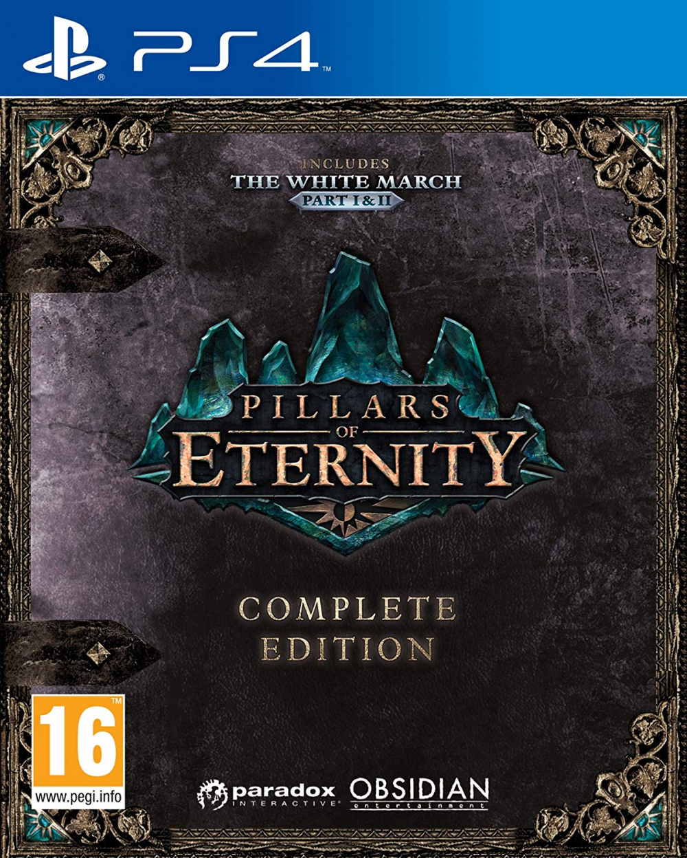 Pillars Of Eternity - Complete Edition [PS4] 5.05 / 6.72 / 7.02 [USA] (2017) [Русский] (v1.06)