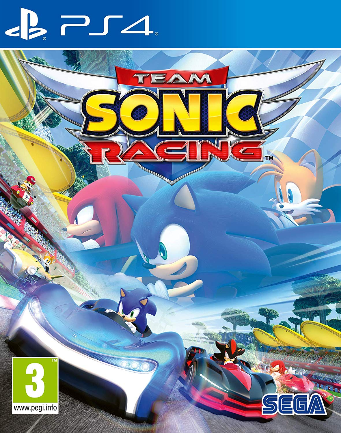 Team Sonic Racing [PS4] 6.72 / 7.02 [EUR] (2019) [Русский] (v1.02)