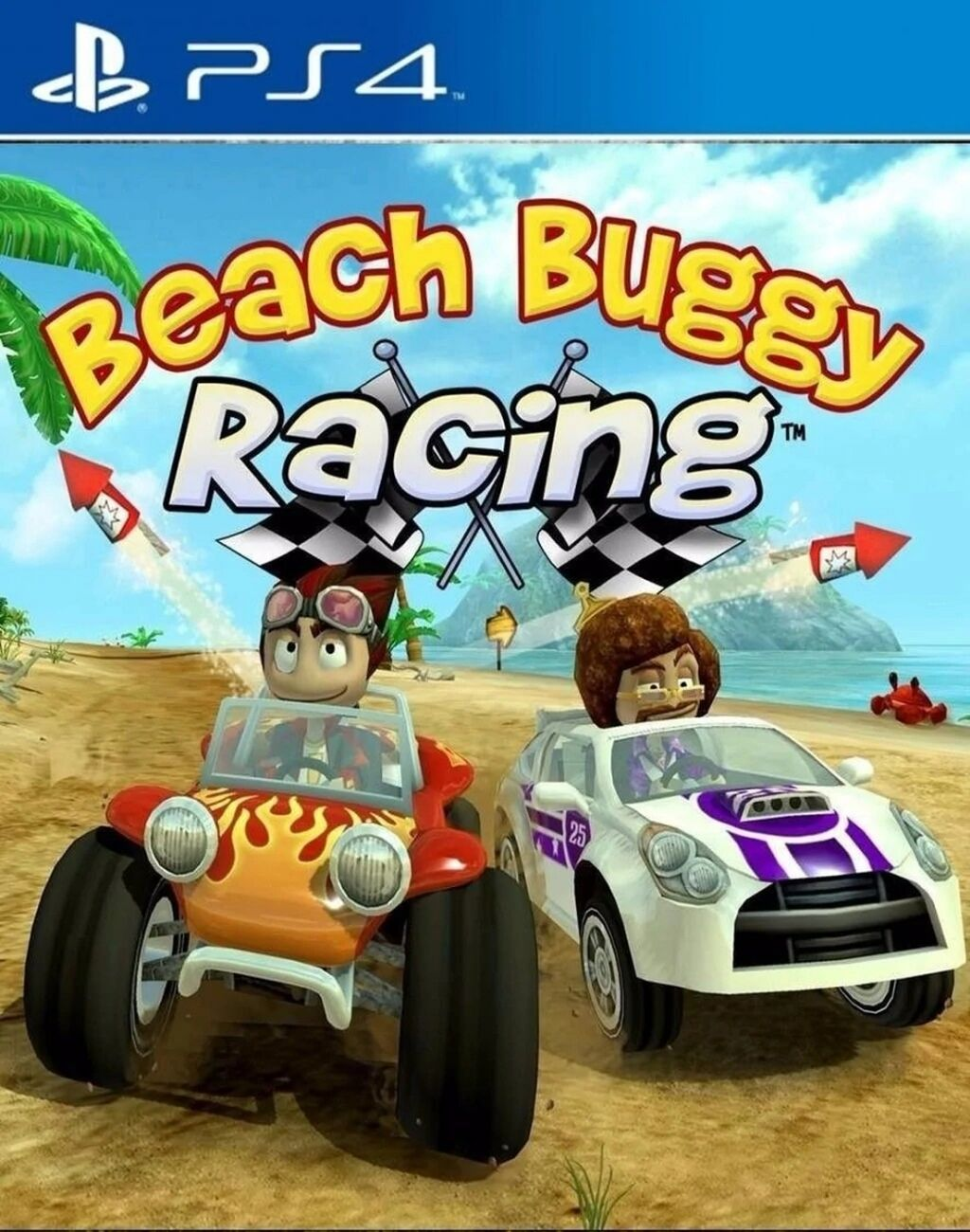 Beach Buggy Racing [PS4] 6.72 / 7.02 [EUR] (2015) [Русский] (v1.01)