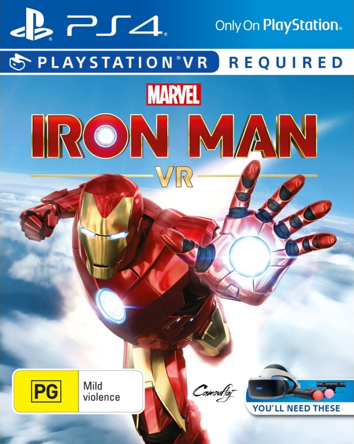 Marvel's Iron Man VR [PS4 Exclusive VR Only] 6.72 / 7.02 [EUR] (2020) [Русский] (v1.00)