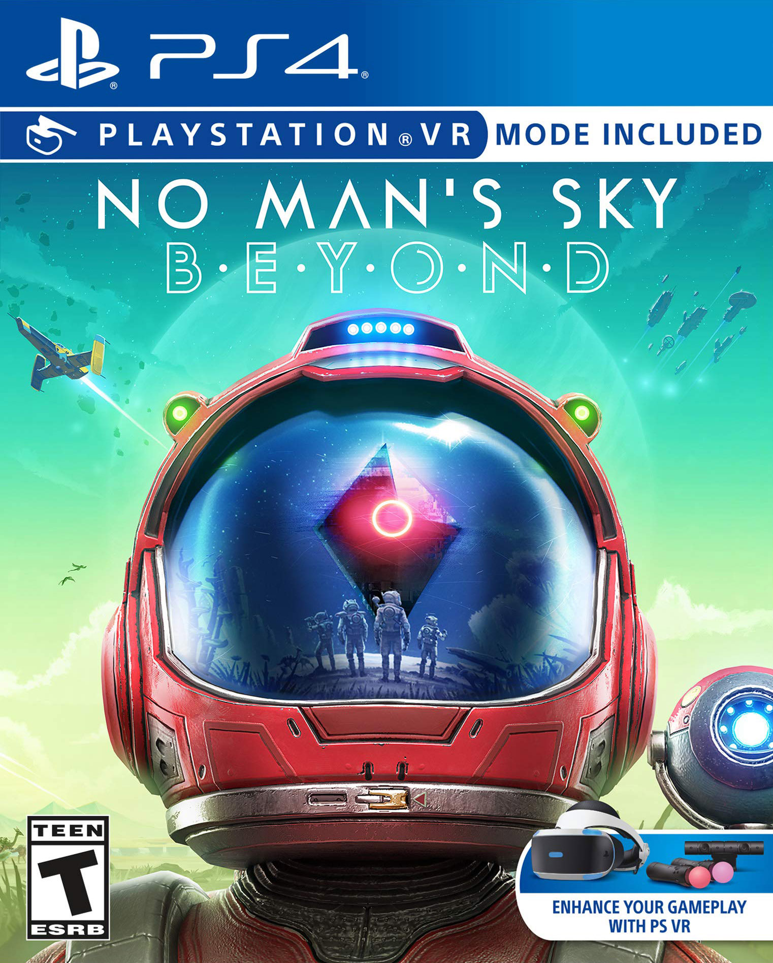 No Man's Sky Beyond [PS4 VR] 6.72 / 7.02 [EUR] (2019) [Русский] (v2.14)