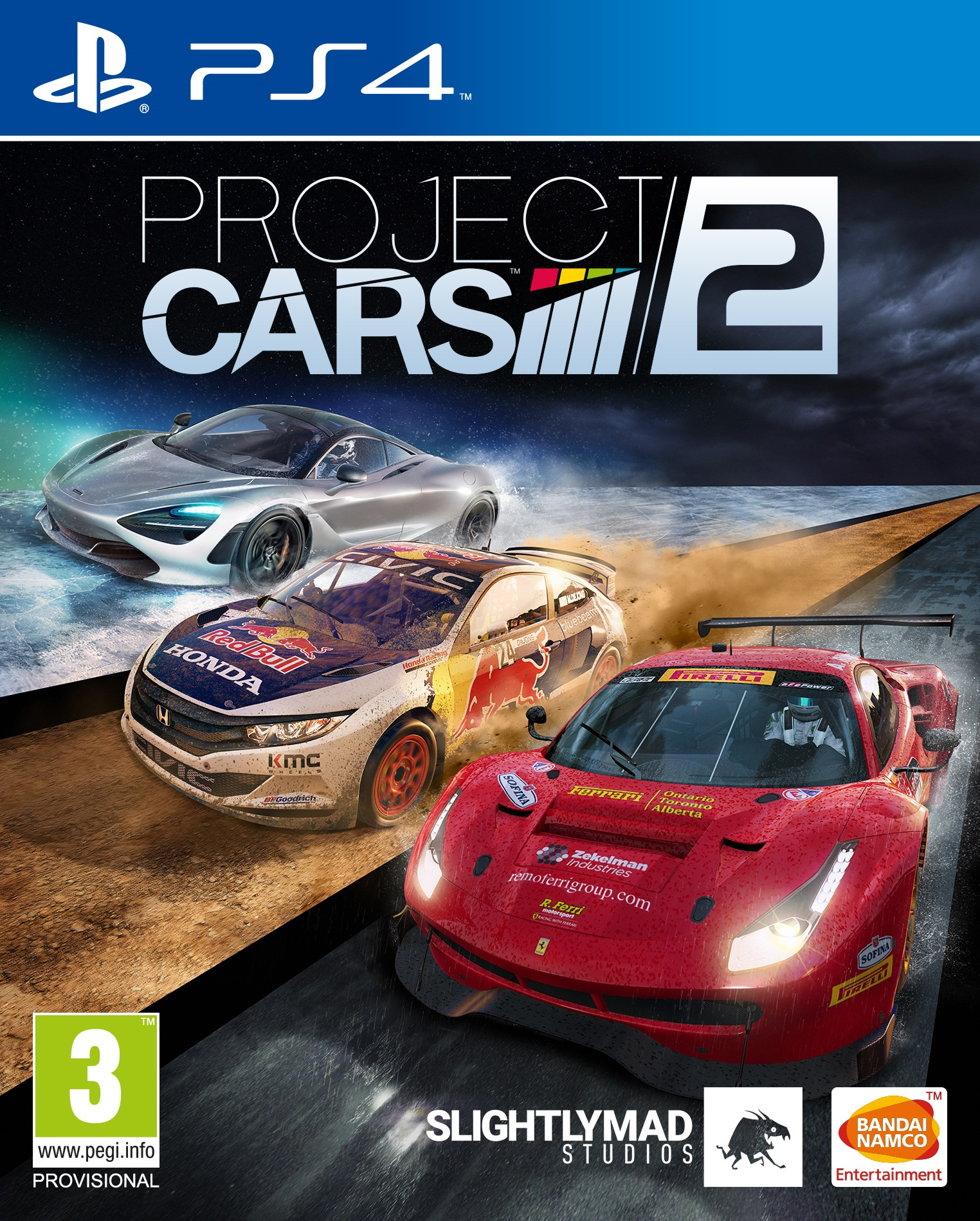 Project CARS 2 [PS4] 5.05 / 6.72 / 7.02 [EUR] (2017) [Русский] (v1.00)