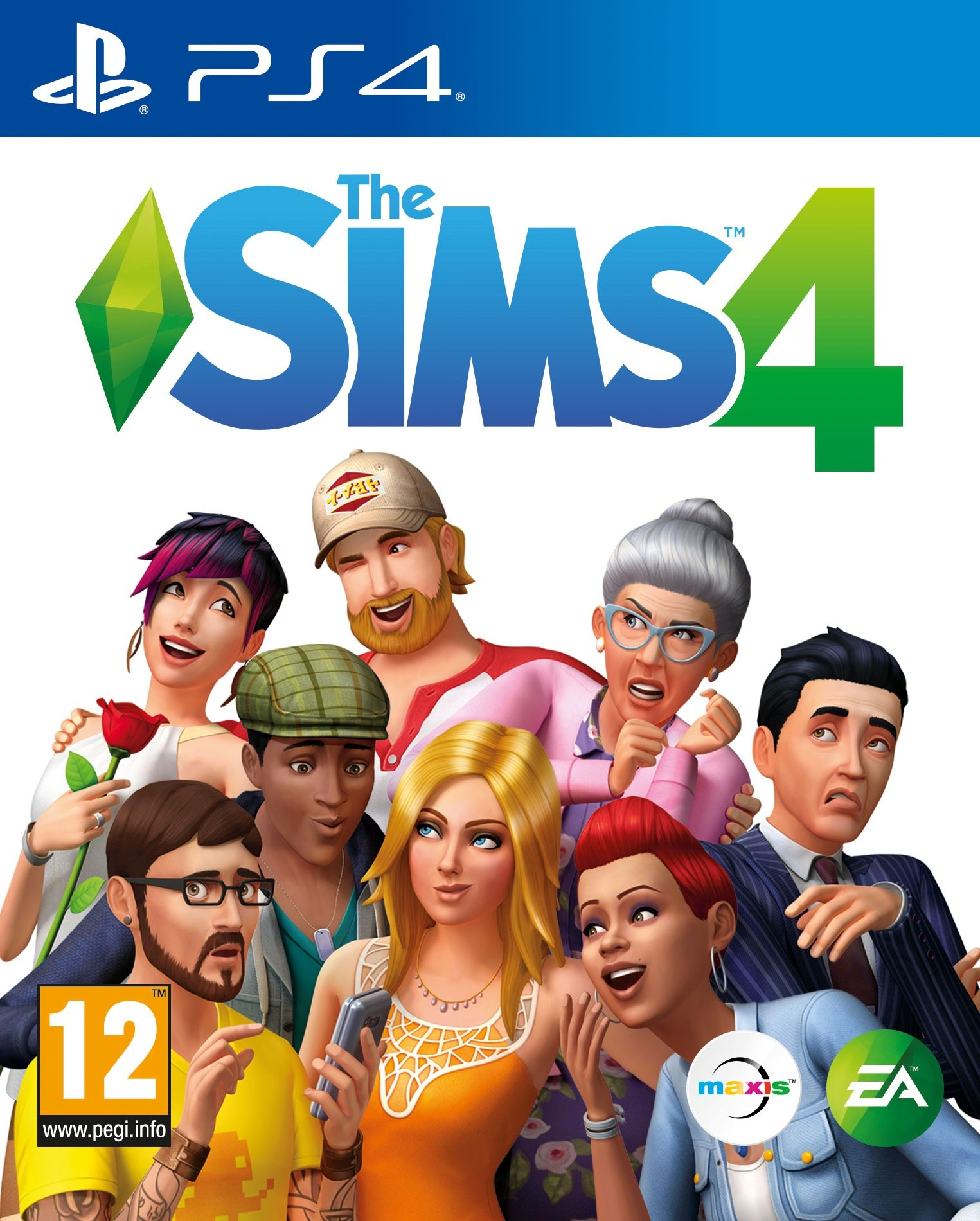 The Sims 4 [PS4] 6.72 / 7.02 [EUR] (2017) [Русский] (v1.24)