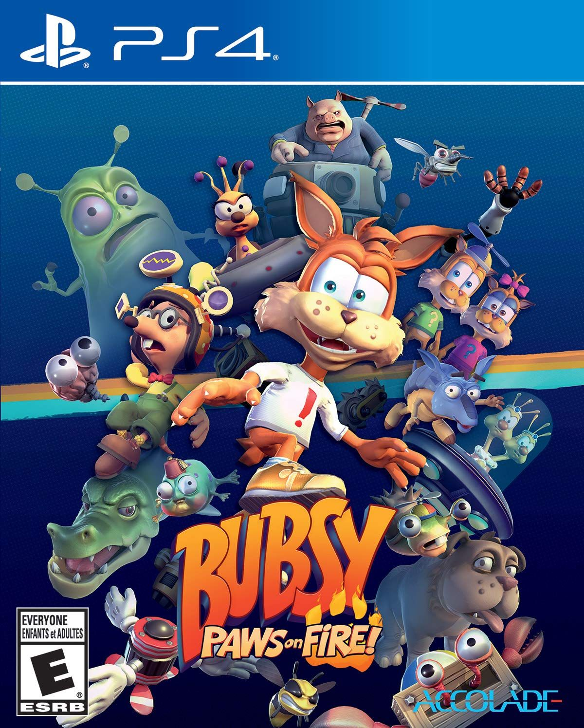 Bubsy: Paws on Fire [PS4] 5.05 / 6.72 / 7.02 [USA] (2019) [Английский] (v1.00)