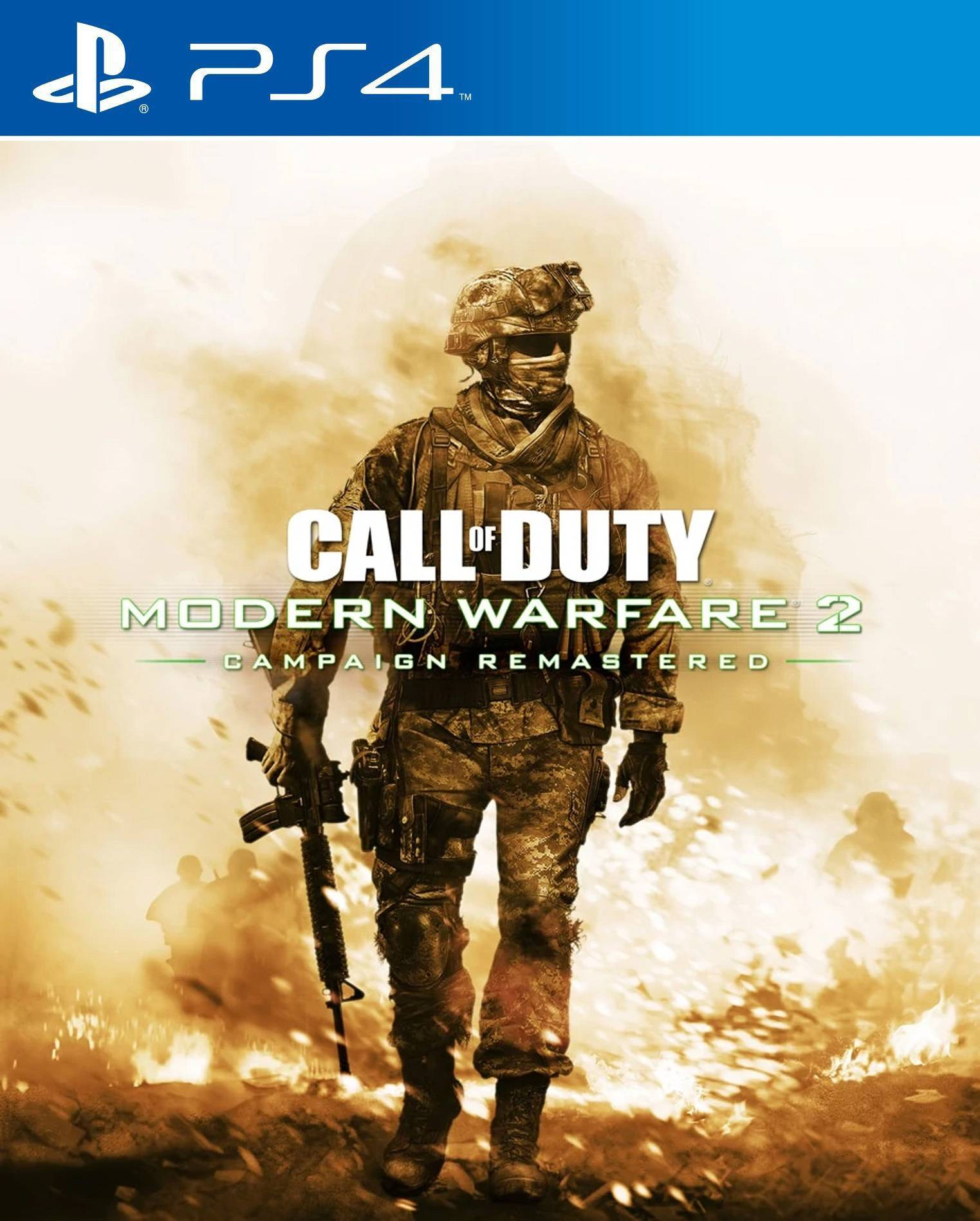 Call of Duty: Modern Warfare 2 Campaign Remastered [PS4] 7.02 [EUR] (2020) [Английский] (v1.00)
