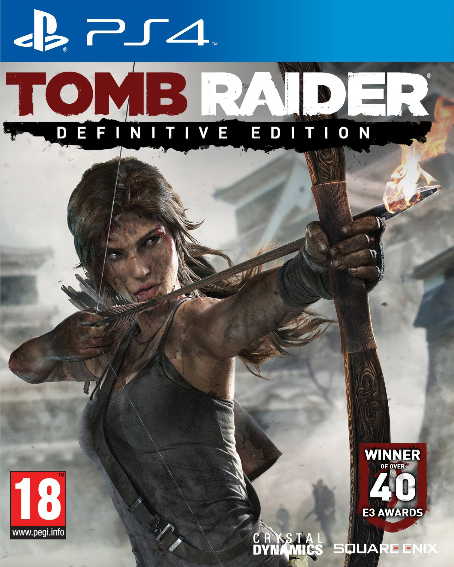 Tomb Raider - Definitive Edition [PS4] 5.05 / 6.72 / 7.02 [EUR] (2013) [Русский] (v1.01)