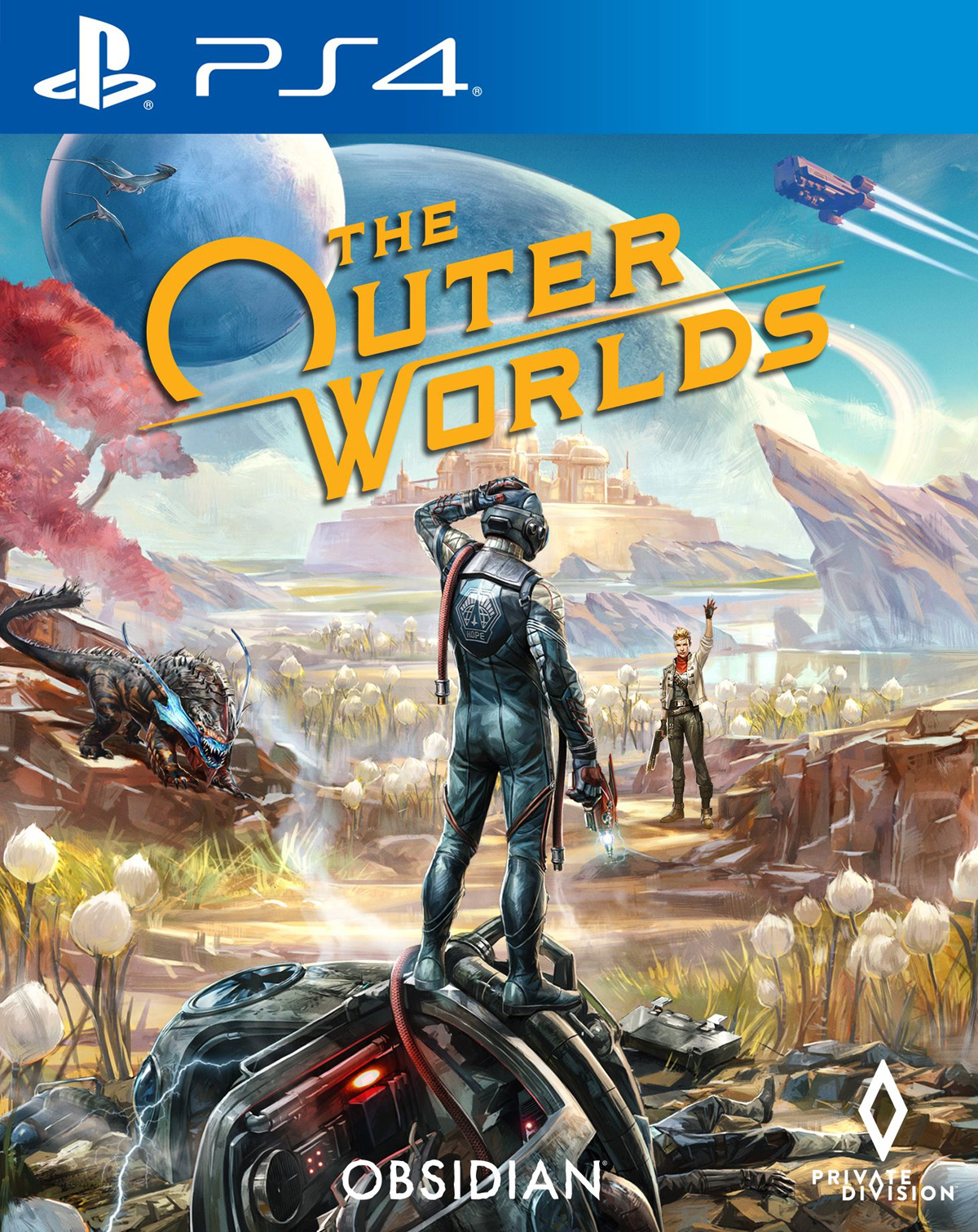 The Outer Worlds [PS4] 6.72 / 7.02 [EUR] (2019) [Русский] (v1.01)