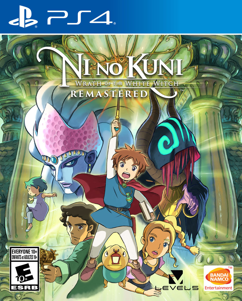 Ni no Kuni: Wrath of the White Witch Remastered [PS4] 5.05 / 6.72 / 7.02 [EUR] (2019) [Русский] (v1.00)