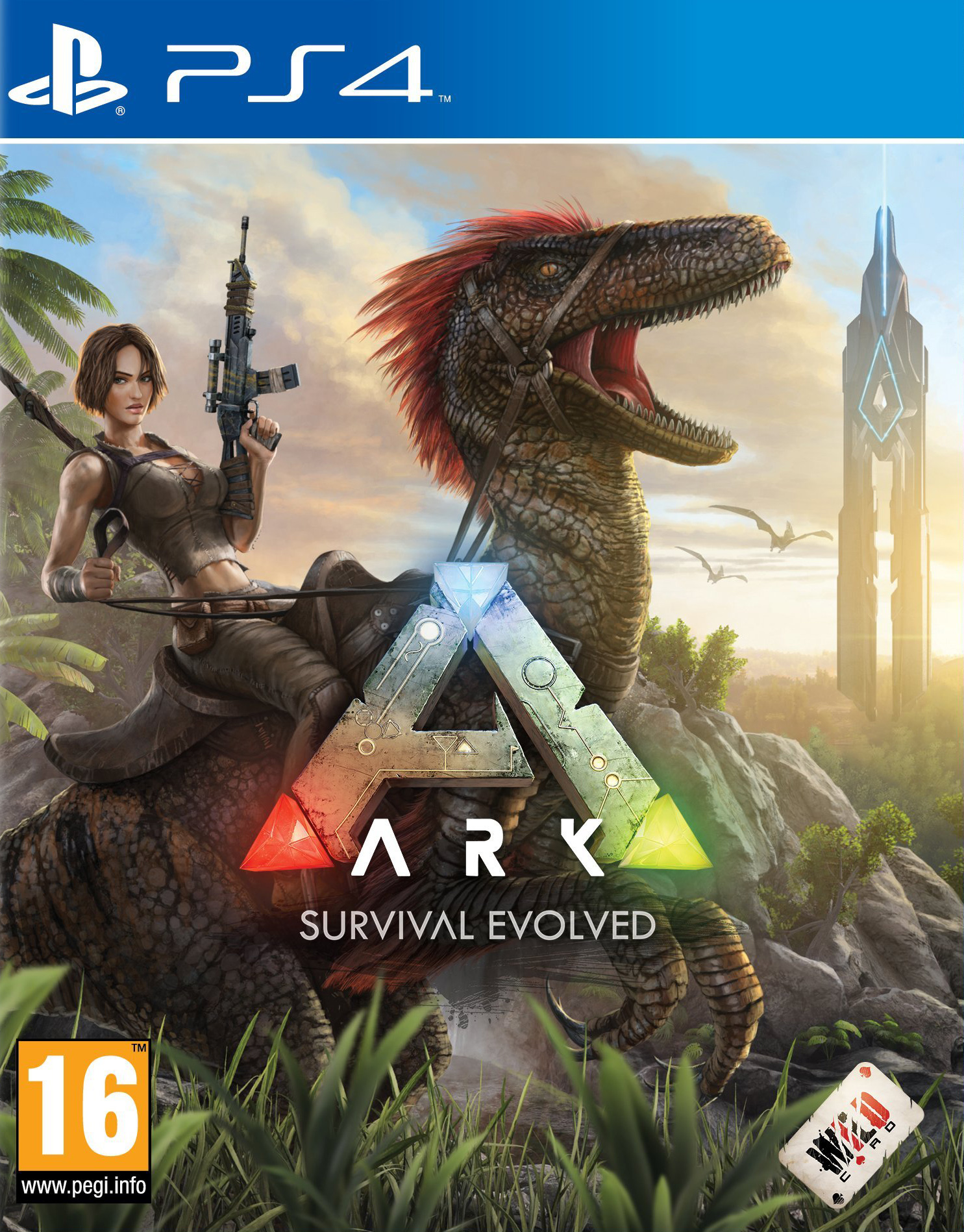 ARK: Survival Evolved [PS4] 5.05 / 6.72 / 7.02 [EUR] (2016) [Русский] (v1.17)