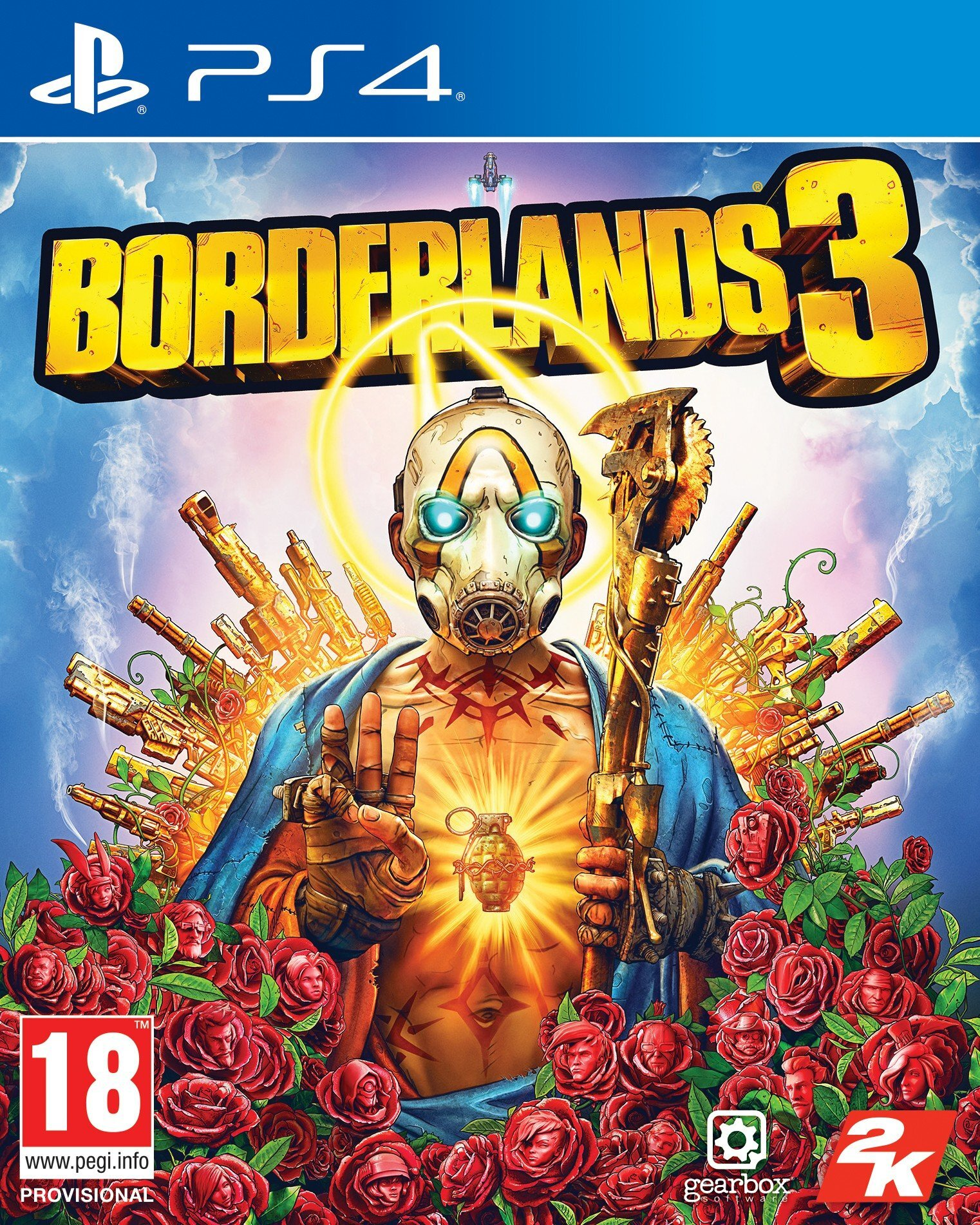 Borderlands 3 [PS4] 6.72 / 7.02 [EUR] (2019) [Русский] (v1.03)