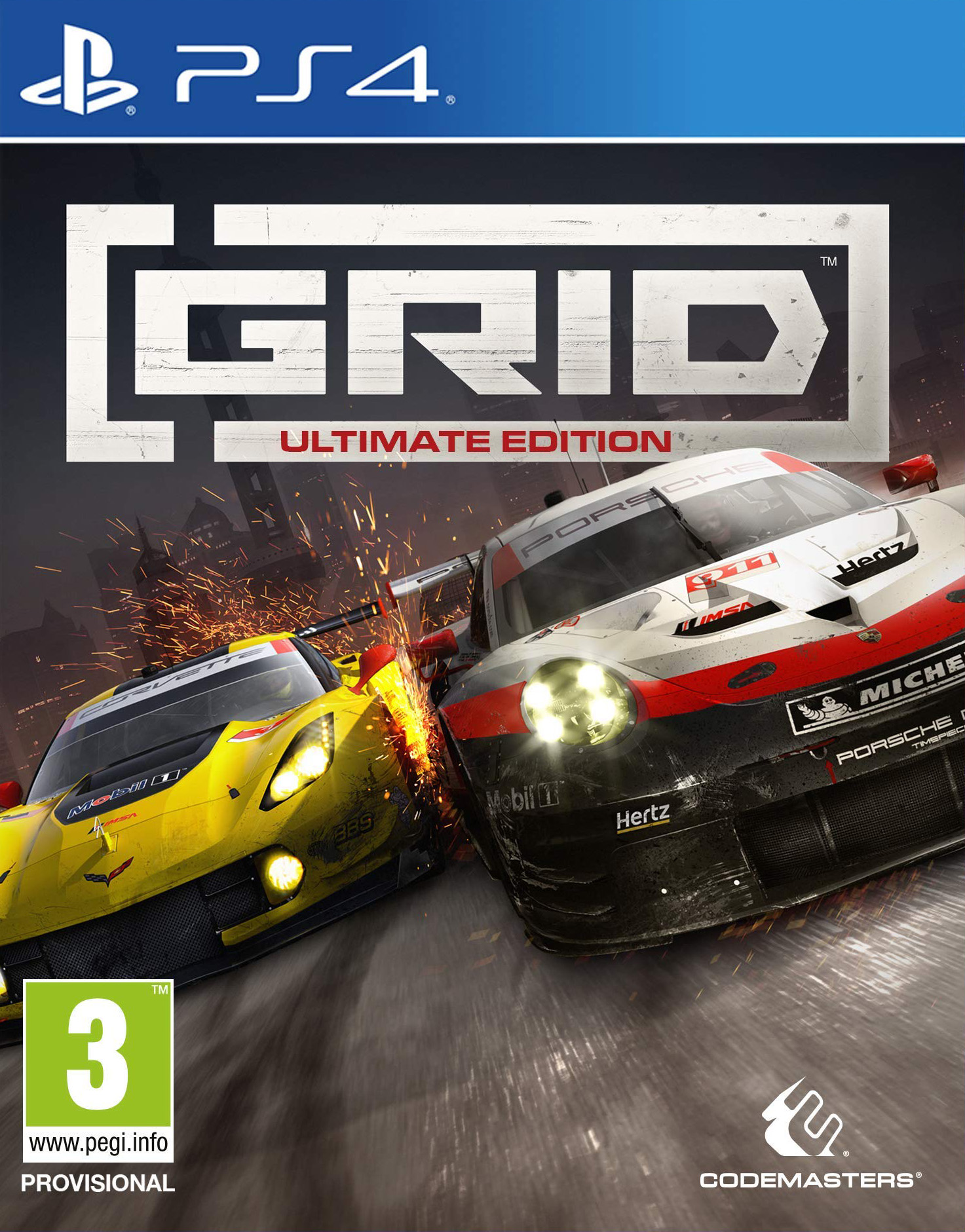 GRID - Ultimate Edition [PS4] 6.72 / 7.02 [EUR] (2019) [Английский] (v3.02)
