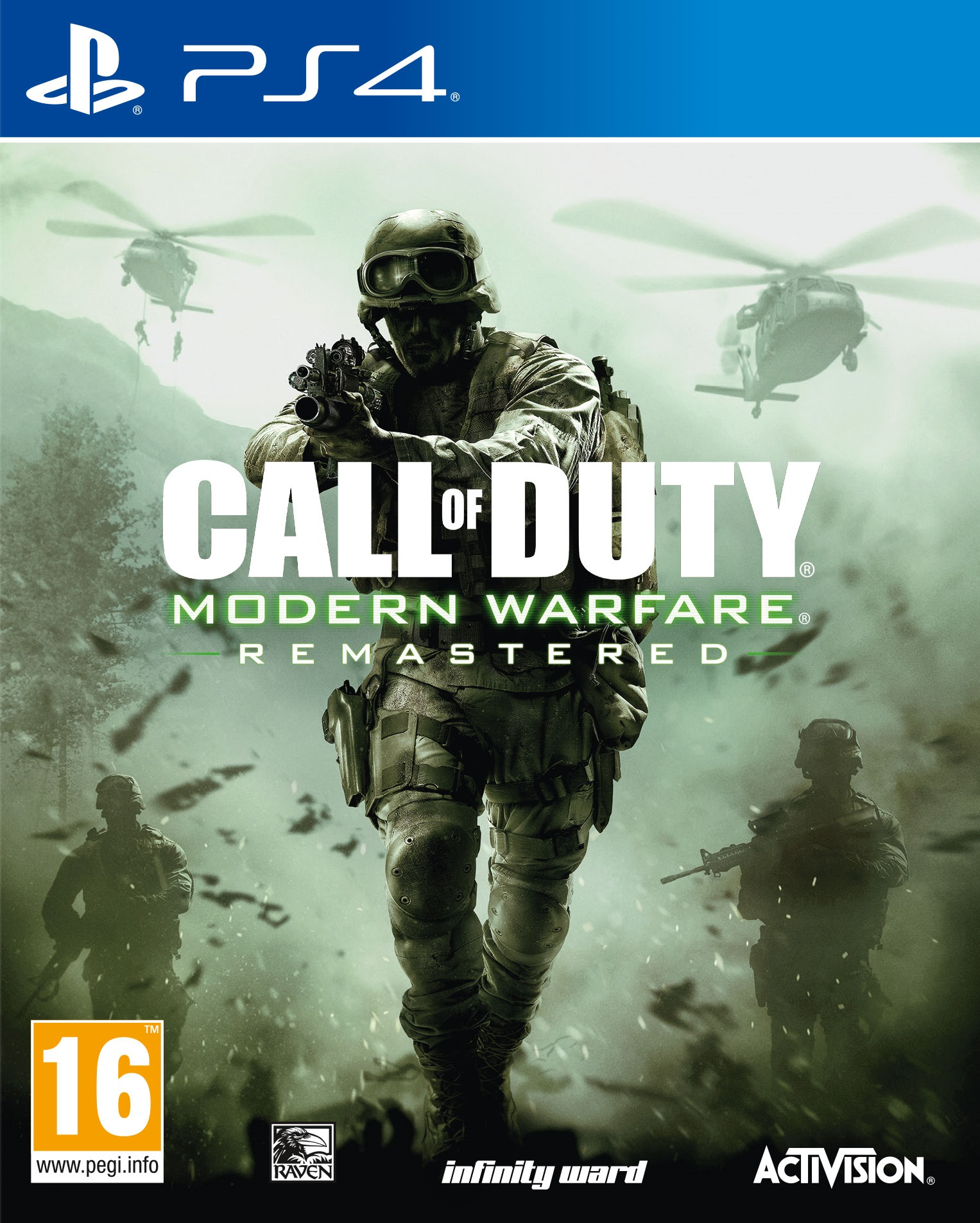 Call of Duty: Modern Warfare Remastered [PS4] 5.05 / 6.72 / 7.02 [EUR] (2016) [Русский] (v1.13)