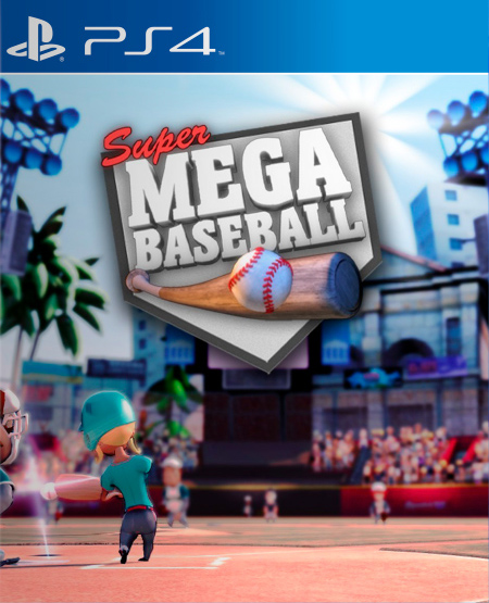 Super Mega Baseball [PS4] 5.05 / 6.72 / 7.02 [USA] (2014) [Английский] (v1.03)
