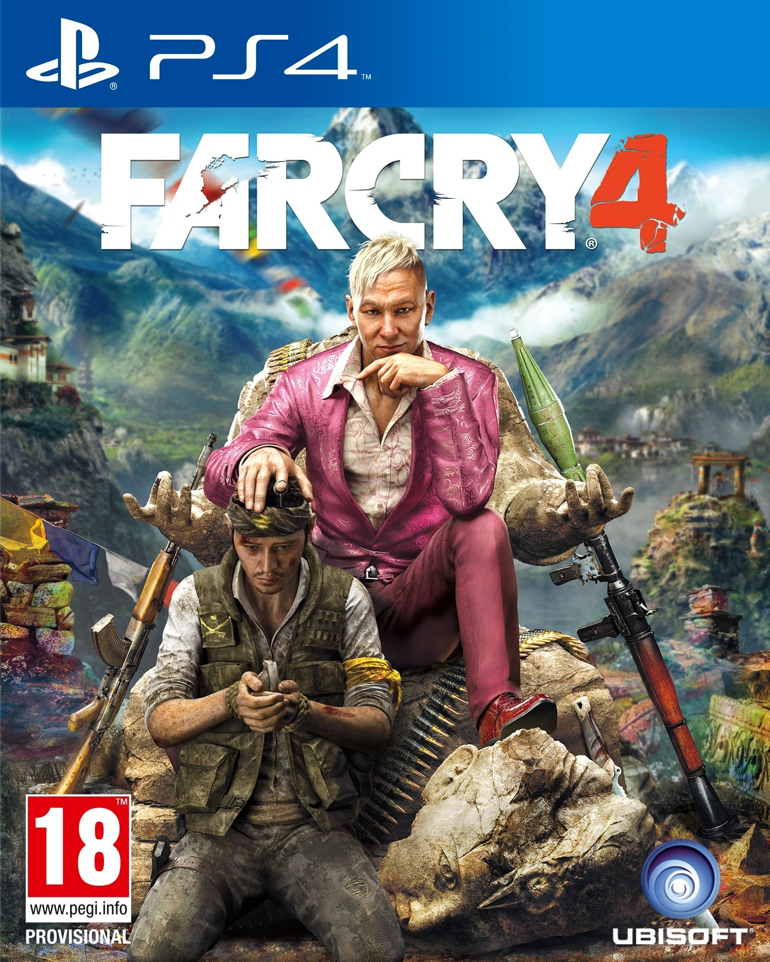 Far Cry 4 - Gold Edition [PS4] 5.05 / 6.72 / 7.02 [EUR] (2014) [Русский] (v1.07)