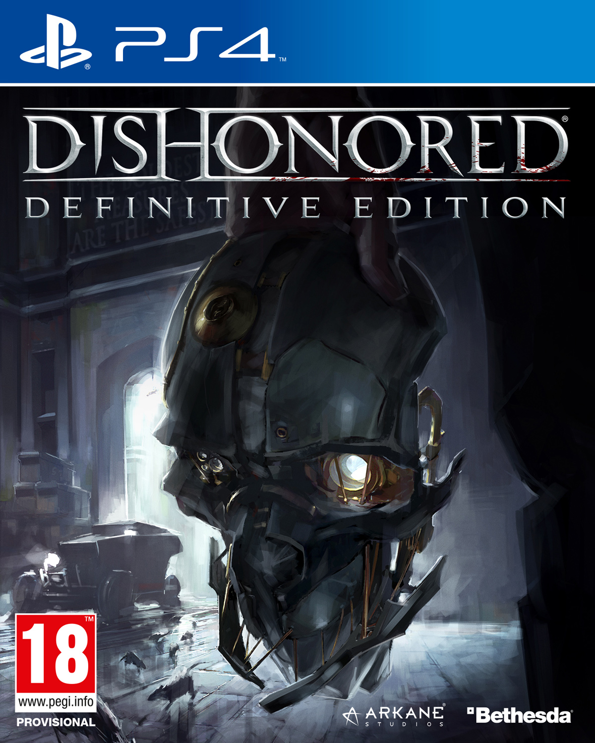 Dishonored - Definitive Edition [PS4] 5.05 / 6.72 / 7.02 [EUR] (2012) [Русский] (v1.01)