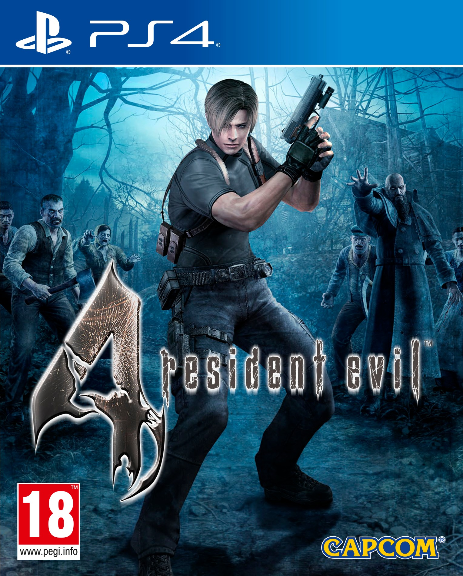 Resident Evil 4 HD [PS4] 5.05 / 6.72 / 7.02 [USA] (2016) [Русский] (v1.00)