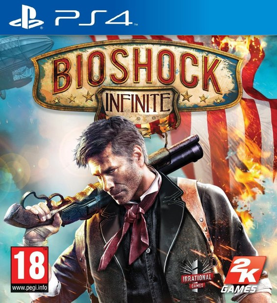 BioShock: Infinite [PS4] 5.05 / 6.72 / 7.02 [EUR] (2016) [Русский] (v1.00)