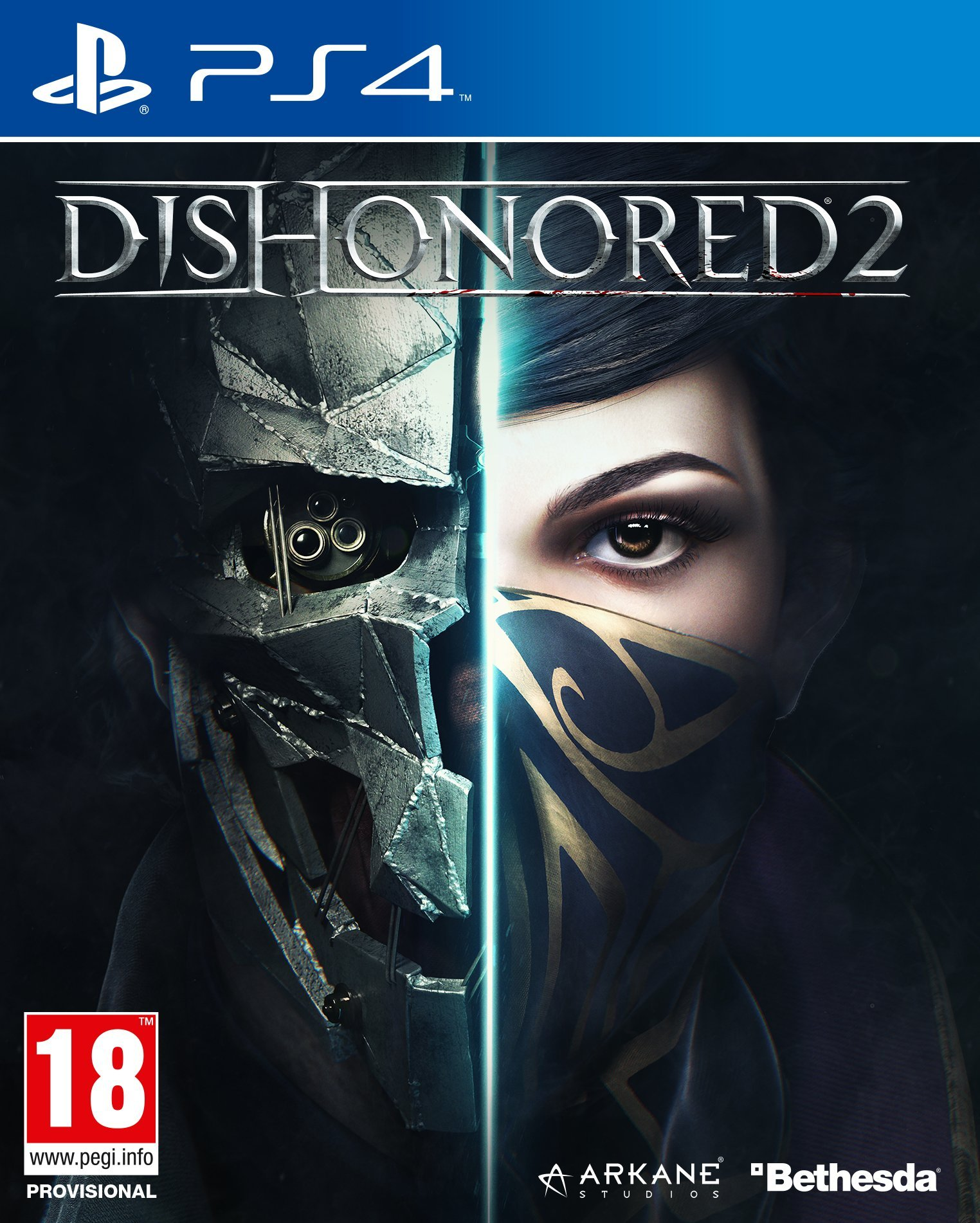 Dishonored 2 [PS4] 5.05 / 6.72 / 7.02 [EUR] (2016) [Русский] (v1.05)
