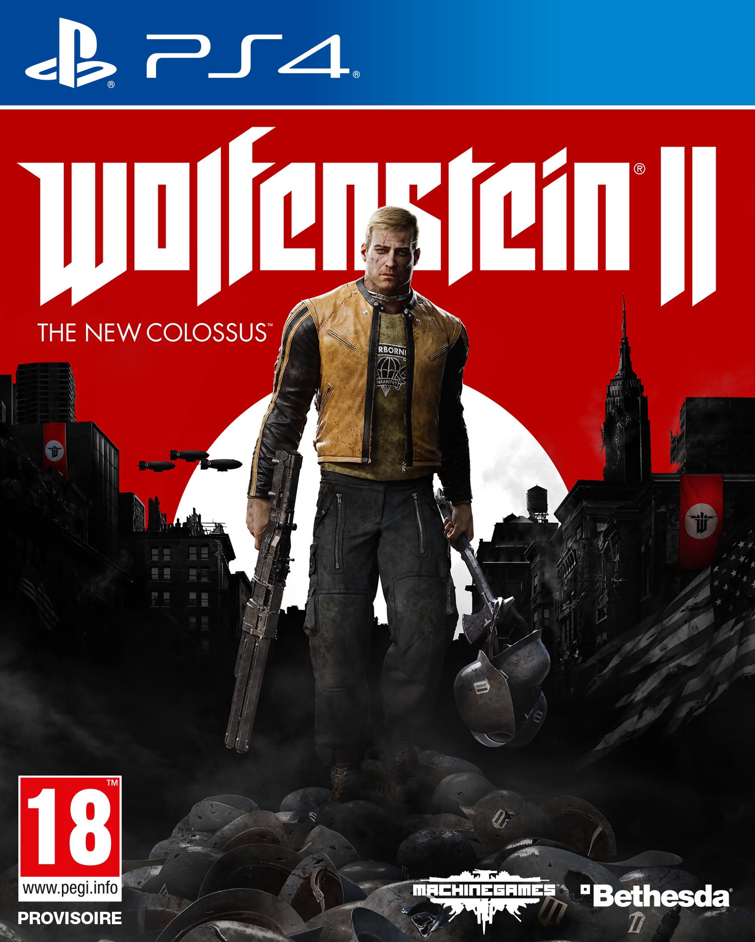 Wolfenstein II: The New Colossus [PS4] 5.05 / 6.72 / 7.02 [EUR] (2017) [Русский] (v1.07)