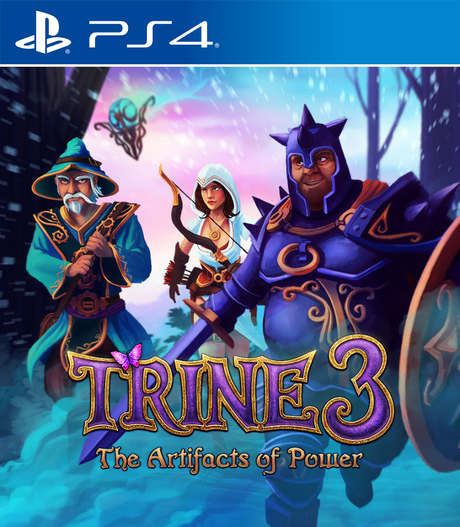 Trine 3: The Artifacts of Power [PS4] 5.05 / 6.72 / 7.02 [USA] (2015) [Русский] (v1.00)