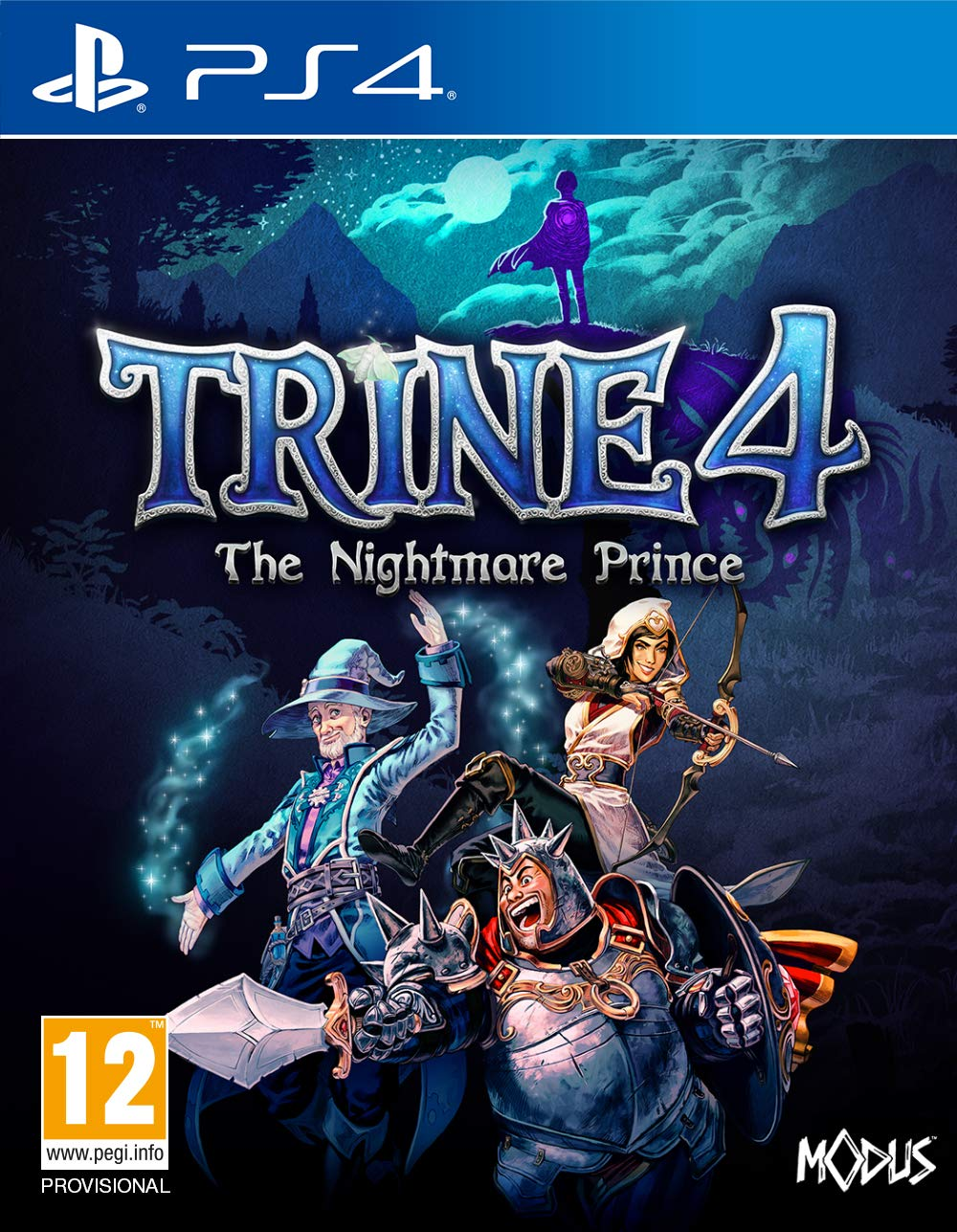 Trine 4: The Nightmare Prince [PS4] 5.05 / 6.72 / 7.02 [EUR] (2019) [Русский] (v1.01)