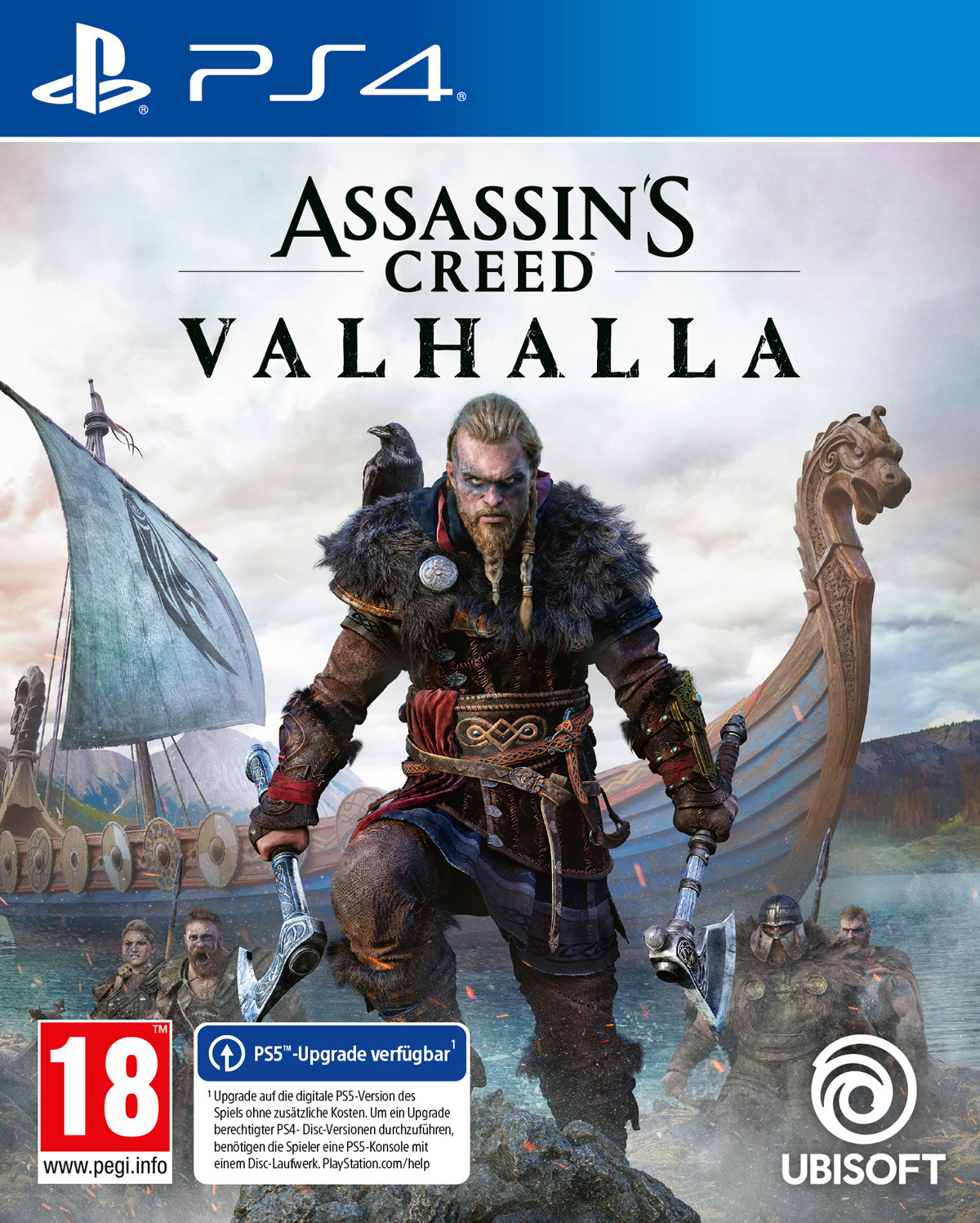 Assassin's Creed Valhalla [PS4] 5.05 / 6.72 / 7.02 / 7.55 [EUR] (2020) [Русский] (v1.00)
