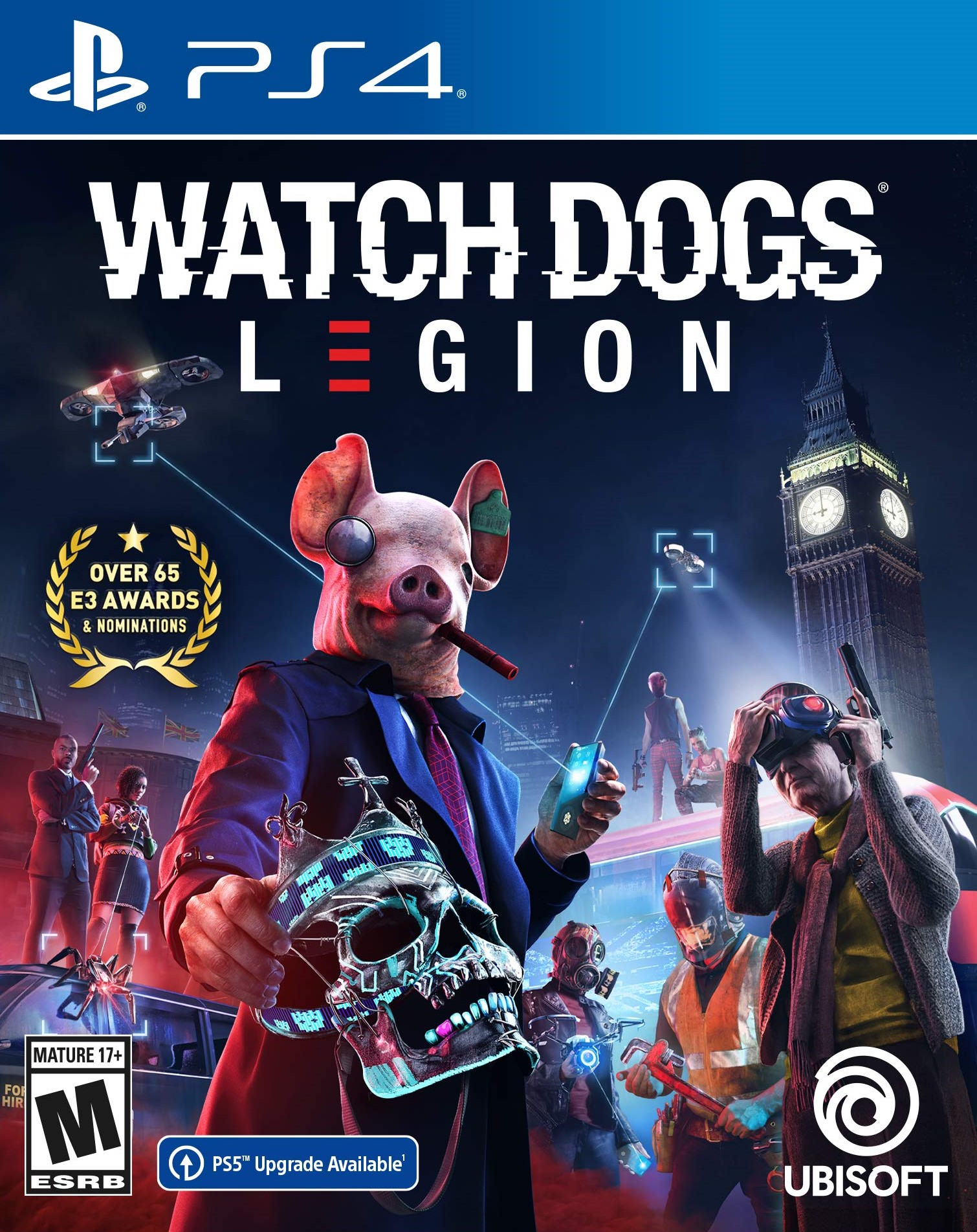 Watch Dogs: Legion [PS4] 5.05 / 6.72 / 7.02 / 7.55 [EUR] (2020) [Русский] (v1.02)