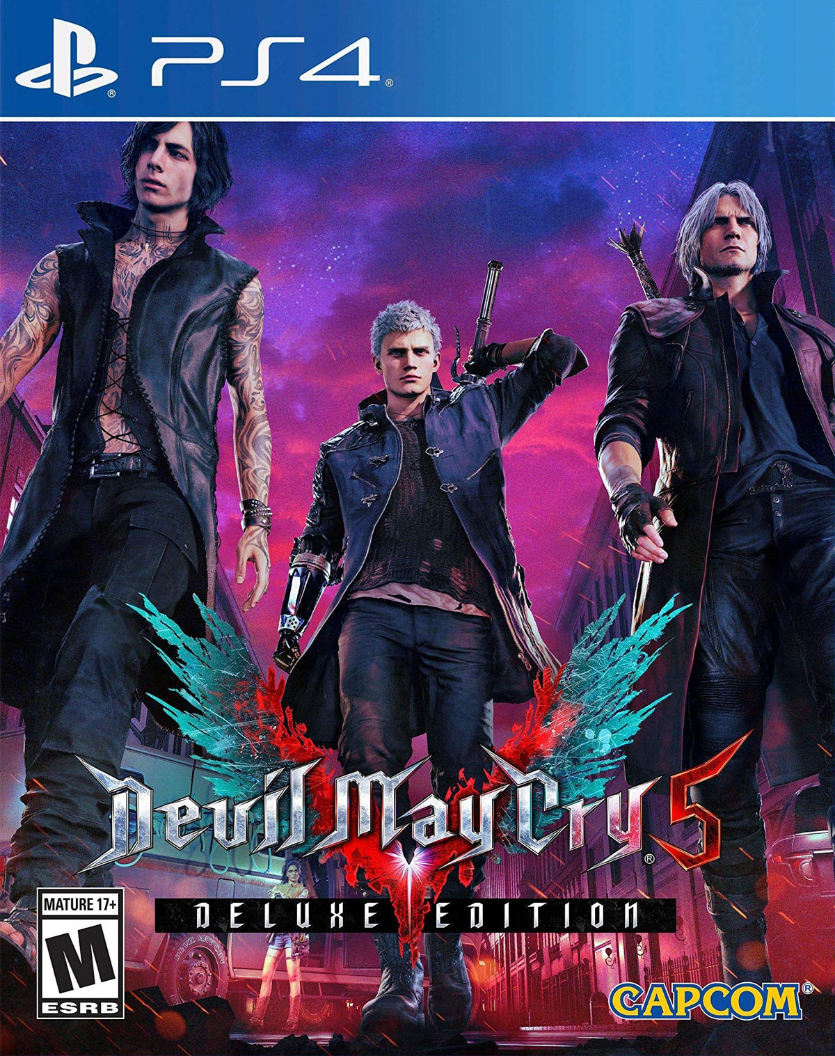 Devil May Cry 5 - Deluxe Edition [PS4] 6.72 / 7.02 / 7.55 [EUR] (2019) [Русский] (v1.08)