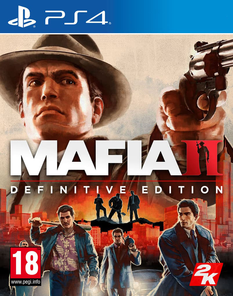 Mafia II: Definitive Edition [PS4] 5.05 / 6.72 / 7.02 / 7.55 [EUR] (2020) [Русский] (v1.02)