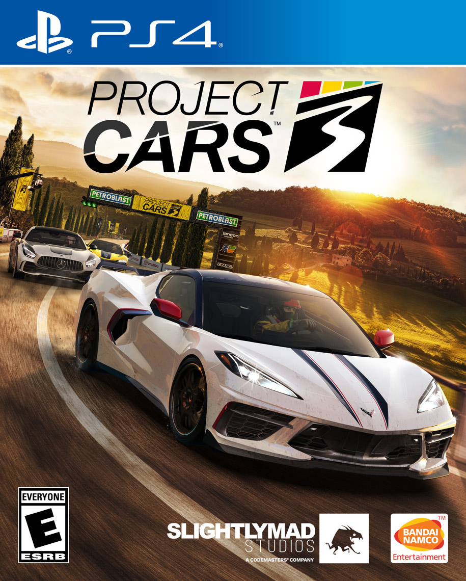 Project Cars 3 [PS4] 5.05 / 6.72 / 7.02 / 7.55 [EUR] (2020) [Русский] (v1.05)