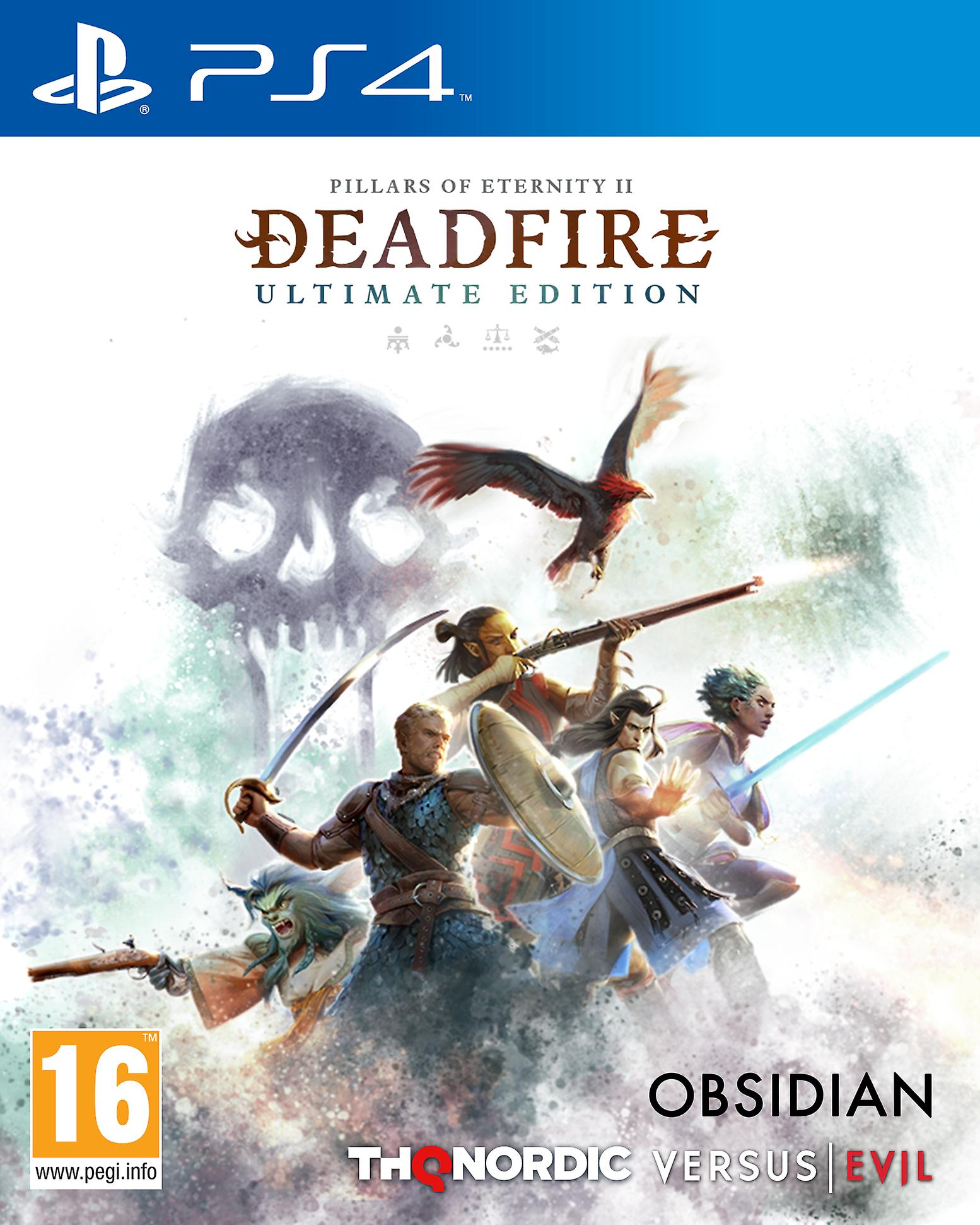 Pillars of Eternity II: Deadfire - Ultimate Edition [PS4] 5.05 / 6.72 / 7.02 / 7.55 [EUR] (2020) [Русский] (v1.05)
